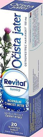 Soutěž o Revital pro očistu jater a horký nápoj pro posílení imunity