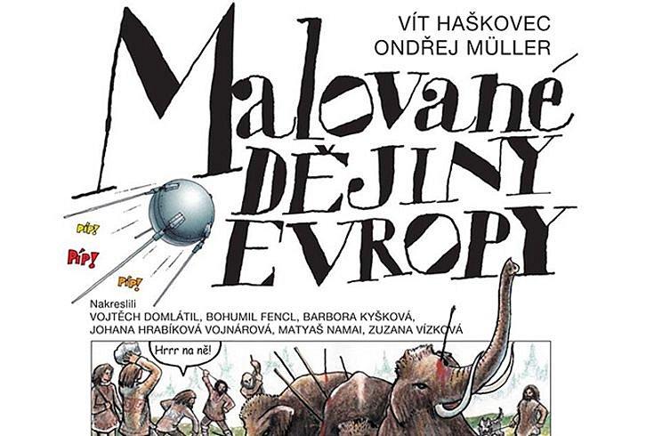 Vyhrajte tři knihy pro děti Malované dějiny Evropy