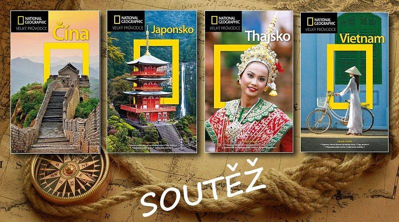 SOUTĚŽ o čtyři asijské průvodce National Geographic