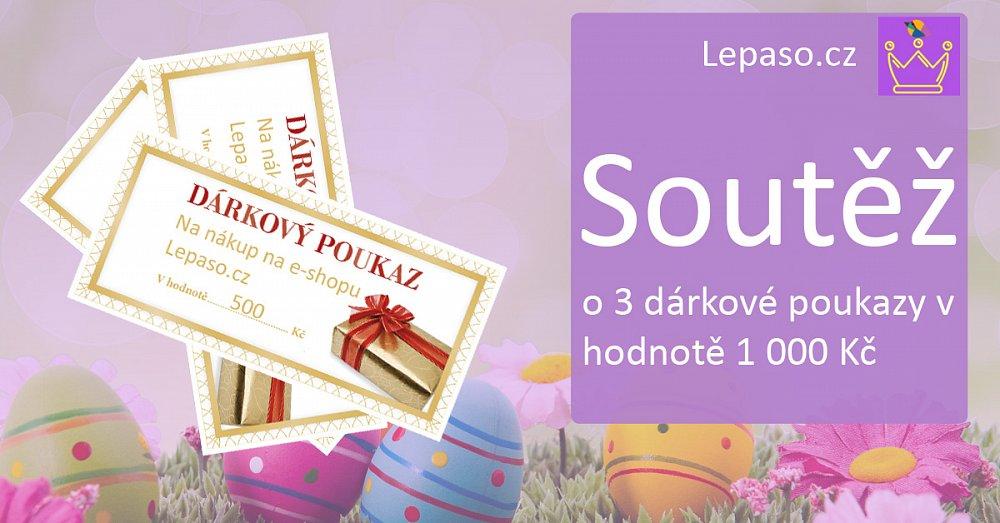 Velikonoční soutěž o dárkové poukazy od Lepaso.cz