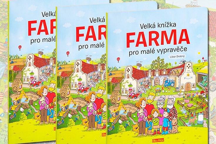 Vyhrajte tři leporela Velká knížka FARMA pro malé vypravěče