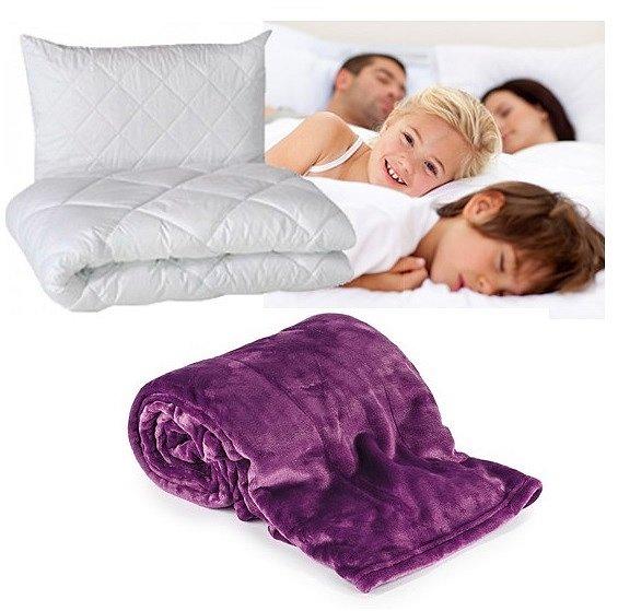 Soutěž o luxusní set přikrývku a polštář a nádhernou mikroflanelovou deku