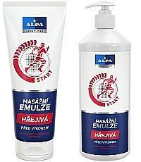 Soutěž o balíčky ALPA Sport Star emulze a masážní krém