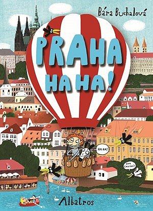 Soutěž o knihu Praha ha ha!
