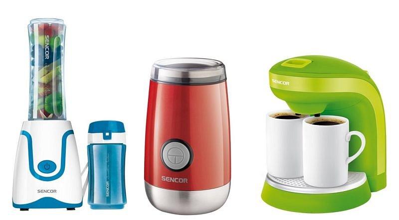 Soutěž o smoothie mixér, mlýnek na kávu a kávovar