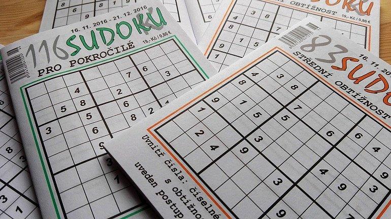 Soutěž o roční předplatné Sudoku-k a hlavolam CUTS Senior