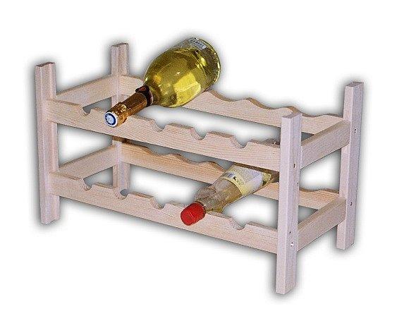 Soutěž o regál na víno z masivu