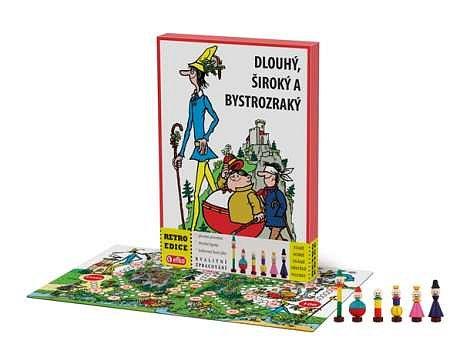 Soutěž o 5x společenskou hru Dlouhý, Široký a Bystrozraký + Hra skládej a vyprávěj příběhy
