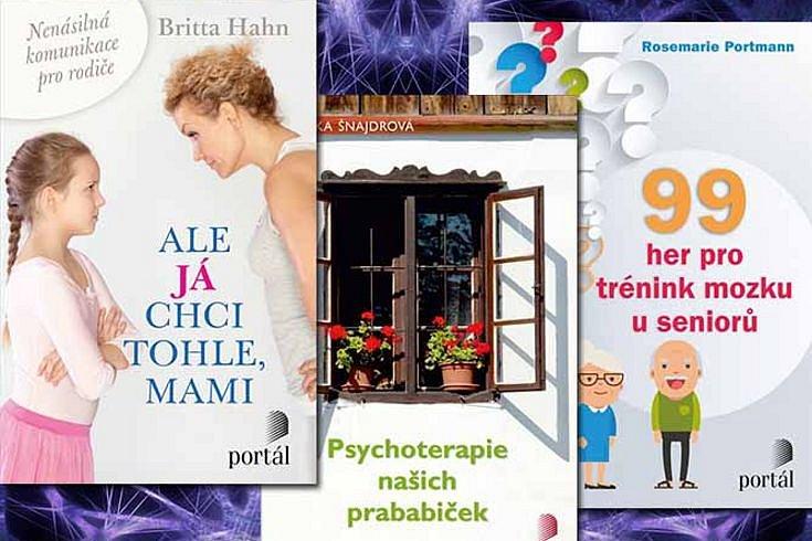 Vyhrajte jednu ze tří psychologických knih nakladatelství Portál
