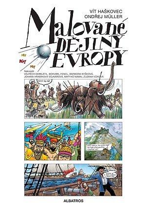 Soutěž o knihu Malované dějiny Evropy