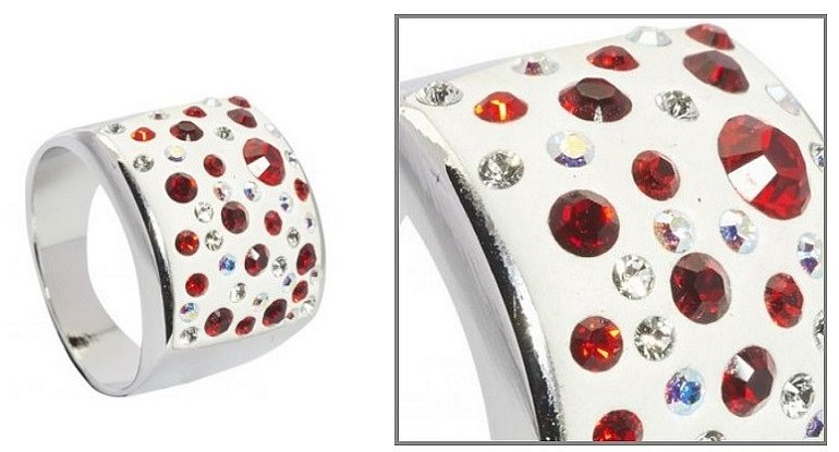 Soutěž o nádherný prsten Kerbo s krystaly Swarovski