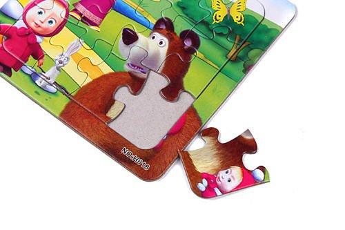 Soutěž o 3x puzzle Máša a medvěd!