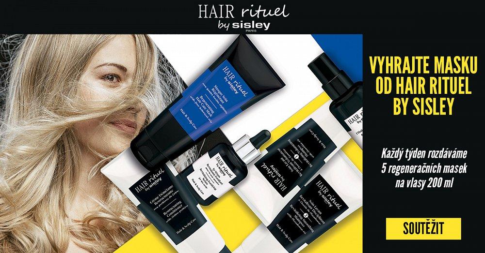Soutež o regenerační masku na vlasy HAIR RITUEL by Sisley