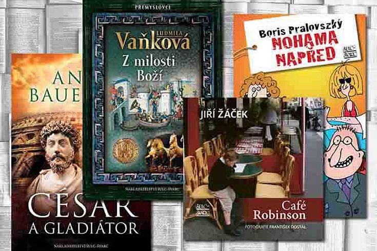 Vyhrajte některou z knih rozličných žánrů nakladatelství Šulc-Švarc