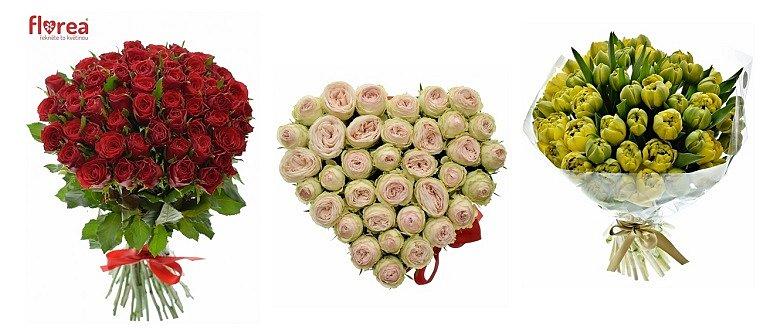 Soutěž o 3 nádherné kytice květin