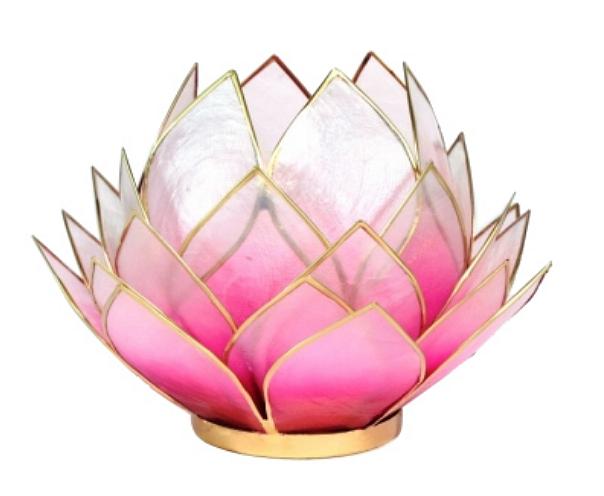 Soutěž o lotosový svícen, světle růžový