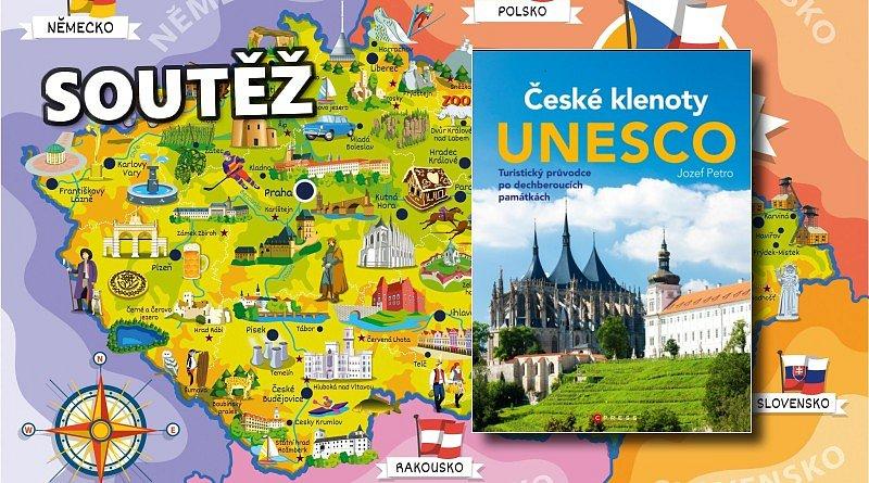 SOUTĚŽ o tři knihy ČESKÉ KLENOTY UNESCO