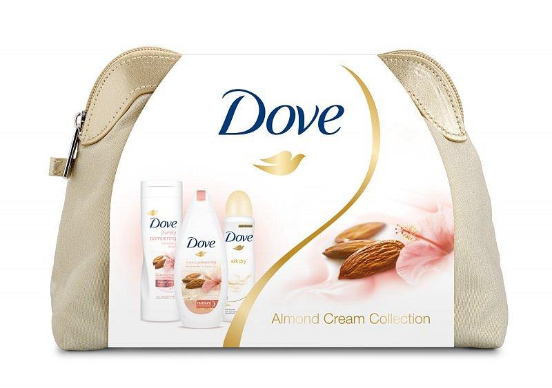 Soutěž o kosmetický balíček Dove Almond