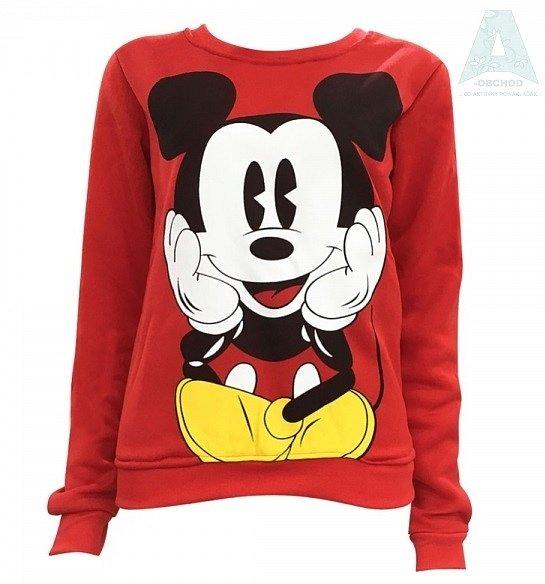 Soutěž o dámskou červenou mikinu Mickey