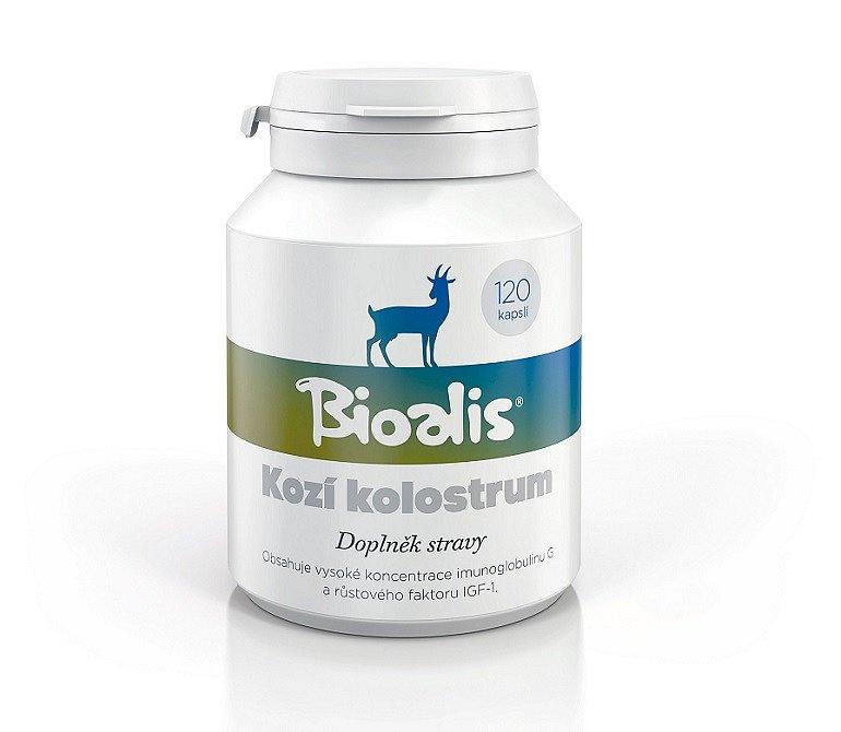 Soutěž o Bioalis – kozí kolostrum 120 kapslí