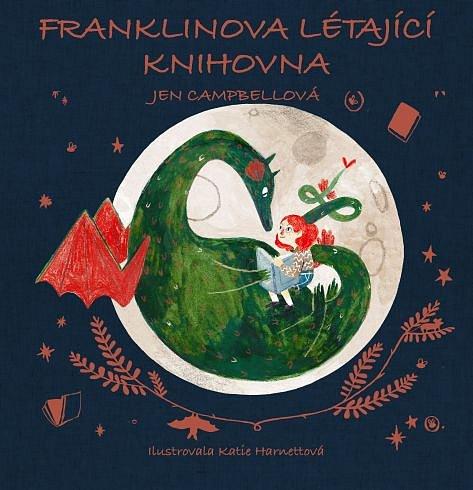 Soutěž o jednu z knih ze Zásilky z Knihozemě: Franklinova létající knihovna