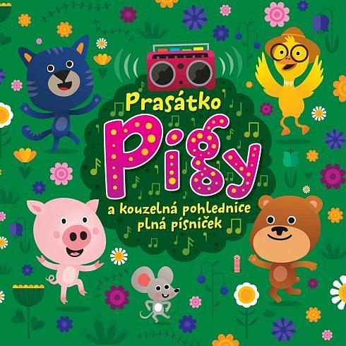 Soutěž o tři audioknihy s písničkami Prasátko Pigy a kouzelná pohlednice plná písniček