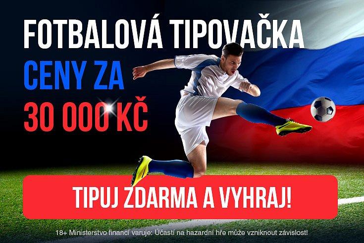 Fotbalová tipovačka o 30 000 Kč