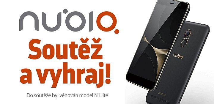 Soutěžíme o parádní chytrý telefon Nubia N1 Lite Black Gold.