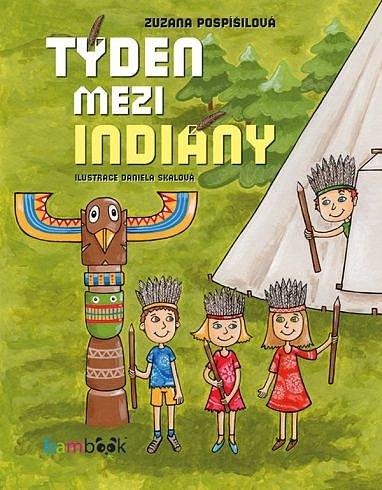 Soutěž o dětskou knížku Týden mezi indiány