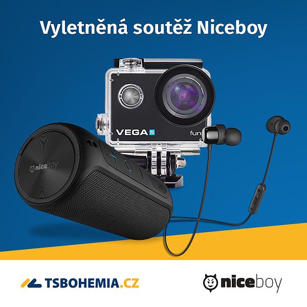 Vyletněná soutěž Niceboy