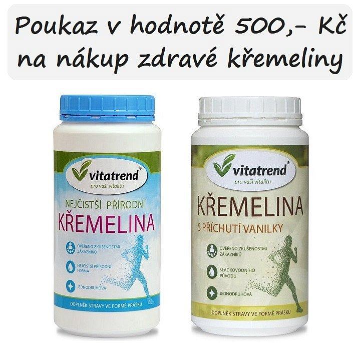 Soutěž o poukaz v hodnotě 500Kč na nákup v e-shopu Vitatrend.cz