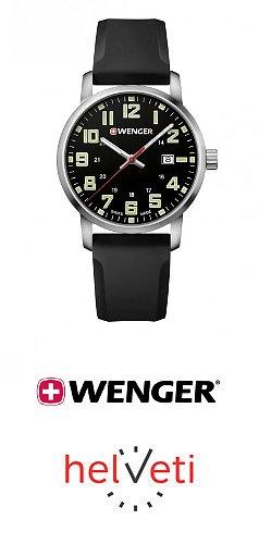 Helveti.cz - Soutěž o hodinky Wenger Avenue 01.1641.110 v hodnotě 3 690 Kč.