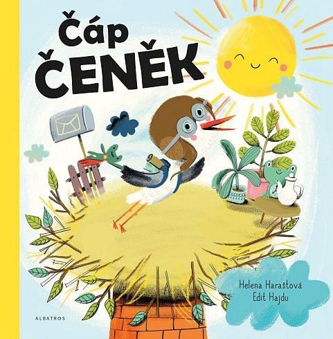 Soutěž o dětskou knížku Čáp Čeněk