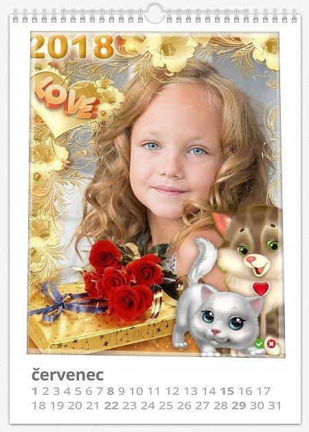 Nástěnné  roční foto kalendáře