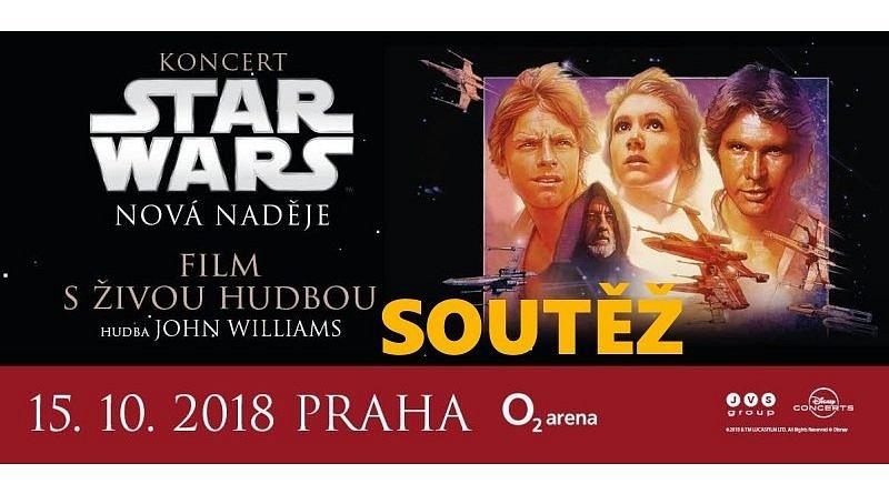 SOUTĚŽ o vstupenky na STAR WARS in Concert