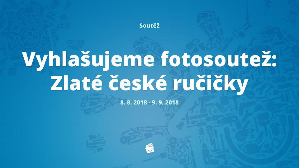 Fotosoutež: Zlaté české ručičky
