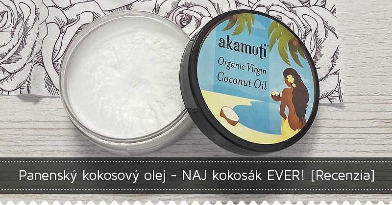 Súťaž o bio panenský kokosový olej zn. Akamuti