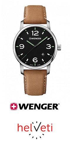 Soutěžte s Helveti.cz o hodinky Wenger Urban Metropolitan 01.1741.117 v hodnotě 4 290 Kč!