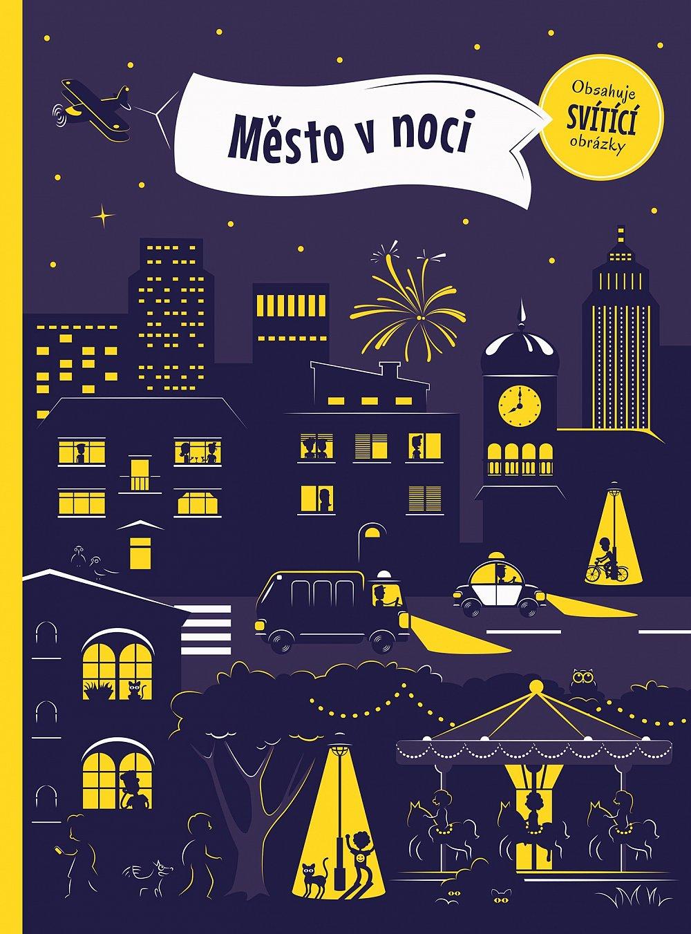 Soutěž o knihu Město v noci