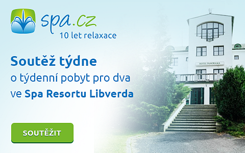 10 let Spa.cz - Soutěž o týdenní pobyt pro 2 ve Spa resortu Libverda