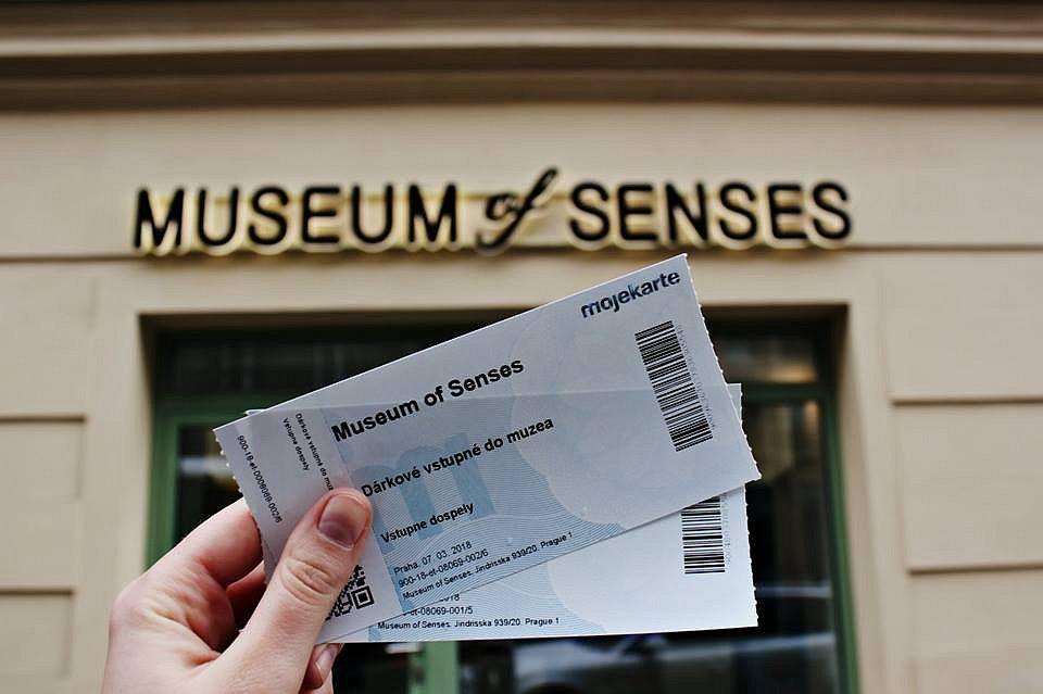 Vyhrajte vstupenky do Muzea Smyslů