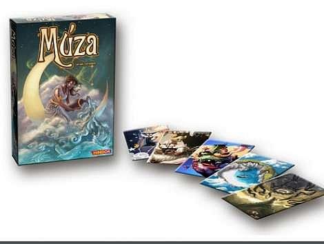 Soutěž o 3x stolní hru Múza