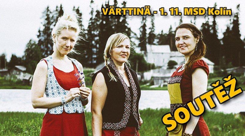 SOUTĚŽ o vstupenky na koncert skupiny VÄRTTINÄ v Kolíně