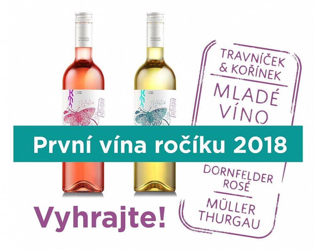 Vyhrajte první vína ročníku 2018!