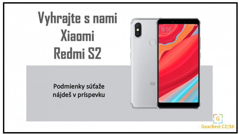 VYHRAJTE S NAMI smartfón  Xiaomi Redmi S2