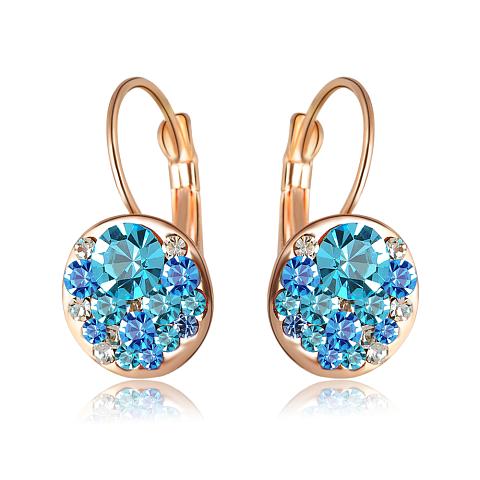 Soutěž o pozlacené náušnice se zářivými rakouskými krystaly