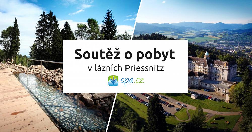 Soutěž o třídenní pobyt pro 2 v lázních Priessnitz
