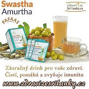 Soutěž o ajurvédský zázračný nápoj Swastha Amurtha ze Srí Lanky