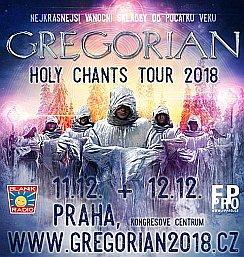Soutěž o vstupenky na speciální vánoční koncert GREGORIAN
