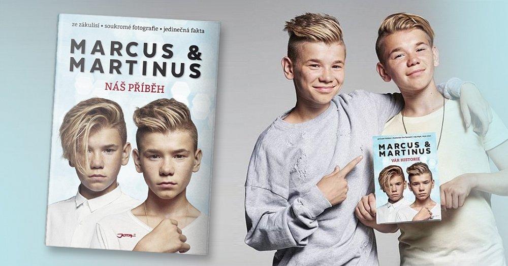 Soutěž o 3 výtisky knihy Marcus & Martinus. Náš příběh